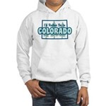 I'd Rather Be In Colorado Hooded Sweatshirt