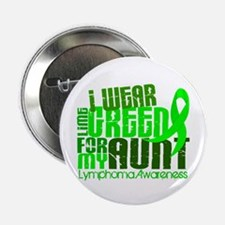 """I Wear Lime 6.4 Lymphoma 2.25"""" Button (10 pack)"""