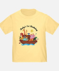 1st Birthday Noah's Ark T