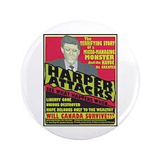 "Harper Attacks / 3.5"" Button (100 pack)"