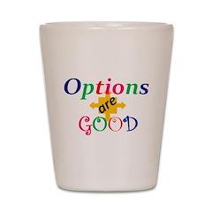 options Shot Glass