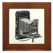 Vintage Camera- Framed Tile