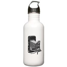 Vintage Camera- Water Bottle