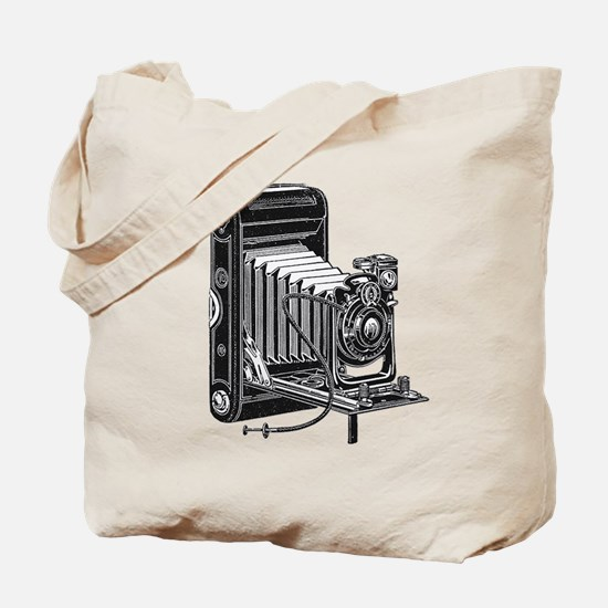 Vintage Camera- Tote Bag