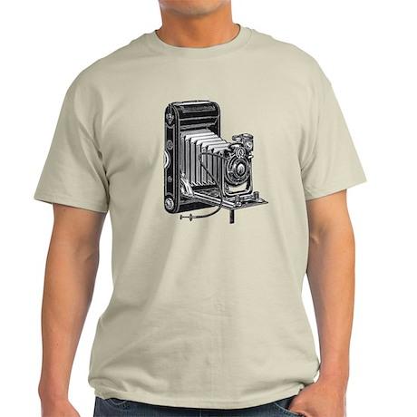 Vintage Camera- Light T-Shirt