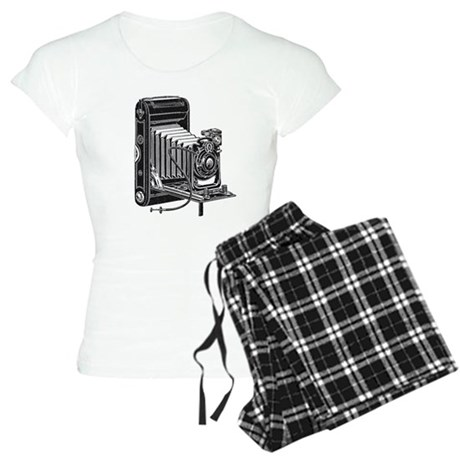 Vintage Camera- Women's Light Pajamas