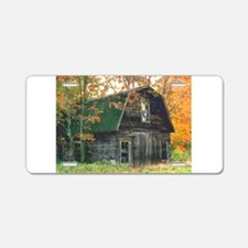 Autumn Barn Aluminum License Plate