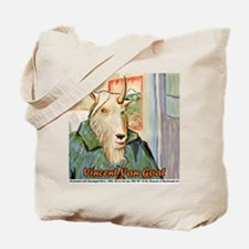Vincent Van Goat Tote Bag