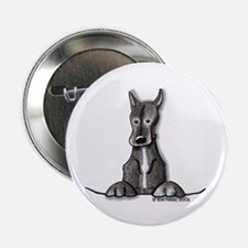 Black Gr8 Dane Button