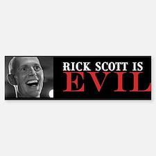 Rick Scott Bumper Bumper Sticker