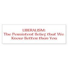Liberalism: Persistent Belief