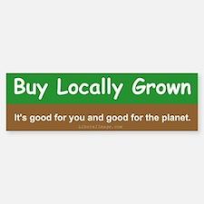 Buy Locally Grown Sticker (Bumper)