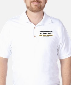 """Slippery Slope"" Golf Shirt"