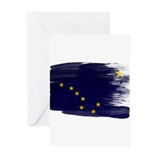 Alaska Flag Greeting Card