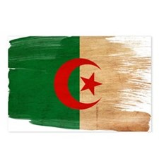 Algeria Flag Postcards (Package of 8)