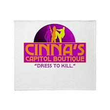 Cinna's Boutique Throw Blanket