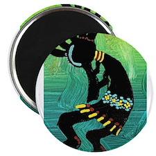 Dancing Kokopelli Magnet