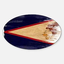 American Samoa Flag Decal