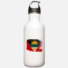 Antigua and Barbuda Flag Water Bottle