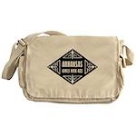 Arkansas Girls Kick Ass Messenger Bag