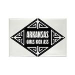 Arkansas Girls Kick Ass Rectangle Magnet (100 pack