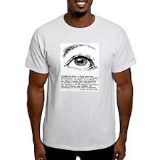 Surrealism Defined Ash Grey T-Shirt