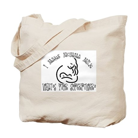 I Make Momma Milk Tote Bag