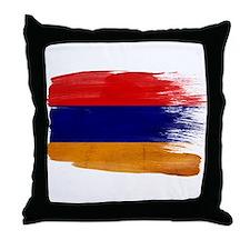 Armenia Flag Throw Pillow