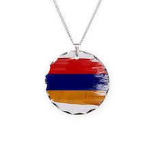 Armenia Flag Necklace