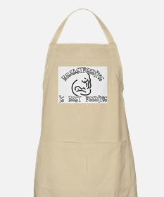Breastfeeding is best feeding BBQ Apron