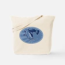 Bullhead Catfish Retro Tote Bag