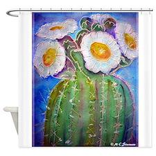Cactus, Southwest, art, Shower Curtain