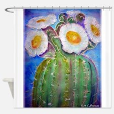 Cactus, Southwest, art, Shower Curtain