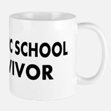 Catholic School Survivor Small Small Mug
