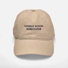 Catholic School Survivor Baseball Baseball Cap