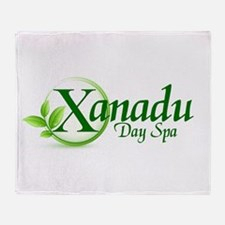 Funny Xanadu Throw Blanket