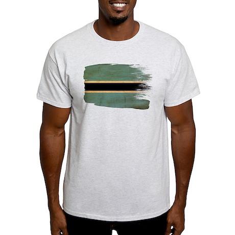 Botswana Flag Light T-Shirt