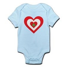 Lebanon Heart Infant Bodysuit