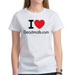 I Love Deadmalls.com Woman's T-Shirt