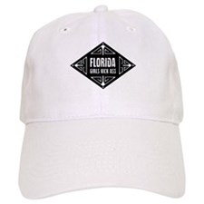 Florida Girls Kick Ass Baseball Cap