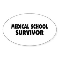 Medical School Survivor Decal