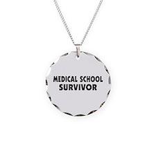 Medical School Survivor Necklace