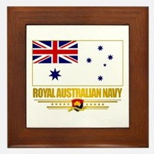 """Royal Australian Navy"" Framed Tile"