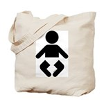 I am a Baby Icon Tote Bag