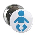 "I am a Baby Icon 2.25"" Button (10 pack)"