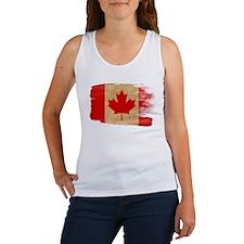 Canada Flag Women's Tank Top