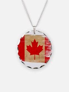 Canada Flag Necklace