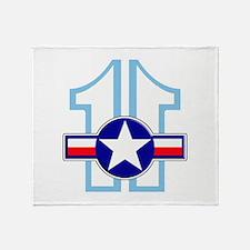 BS11 2012 Mil Throw Blanket