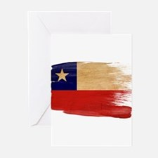 Chile Flag Greeting Cards (Pk of 20)