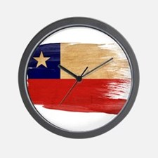 Chile Flag Wall Clock